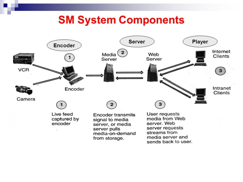 SM System Components PlayerServer Encoder