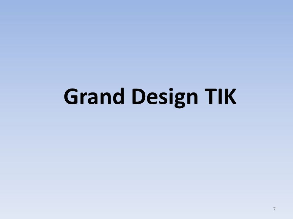 Grand Design TIK 7