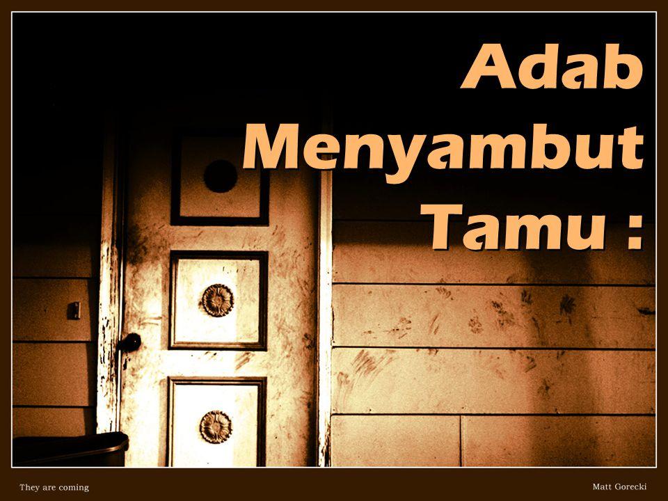 Agar Ramadhan berkenan singgah di Hati kita...
