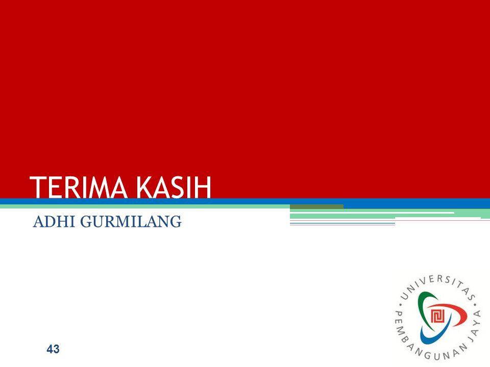 TERIMA KASIH ADHI GURMILANG 43