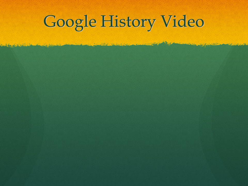 Google History Video