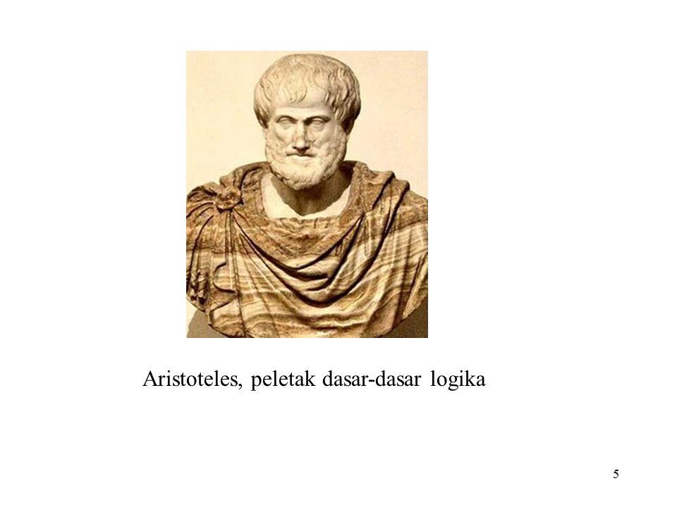 5 Aristoteles, peletak dasar-dasar logika