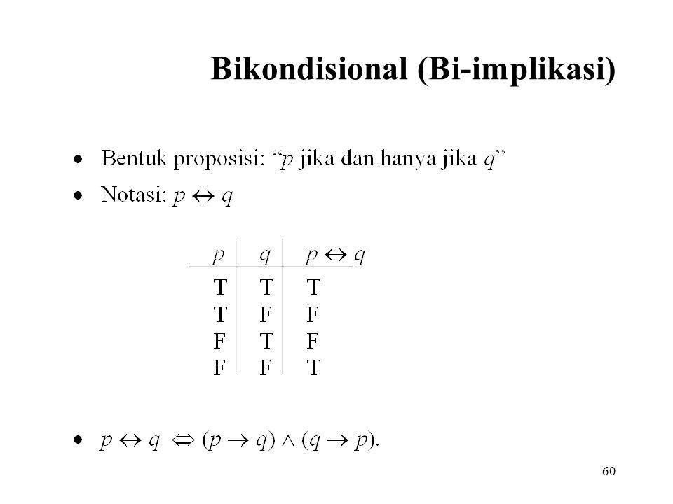 60 Bikondisional (Bi-implikasi)