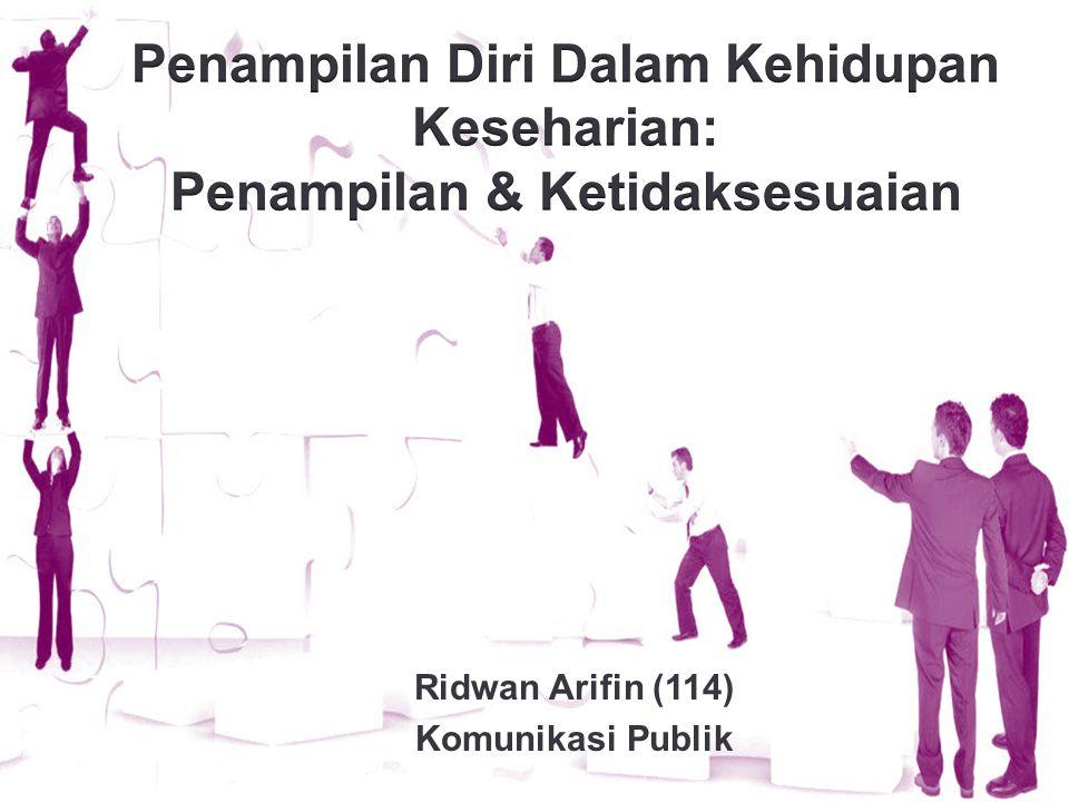 Ridwan Arifin (114) Komunikasi Publik