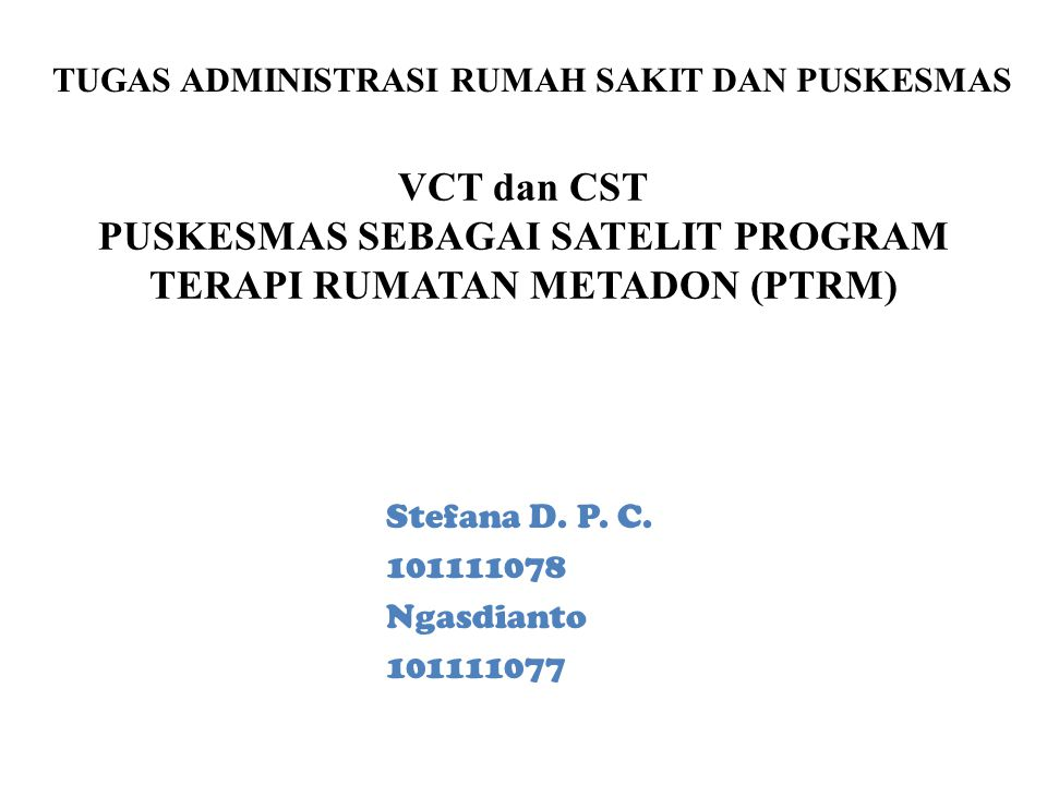 Voluntary Counseling and Testing