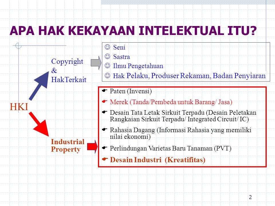 13 Penyelesaian Sengketa I.Perdata 1. Tuntutan Ganti Rugi ke Pengadilan Niaga 2.
