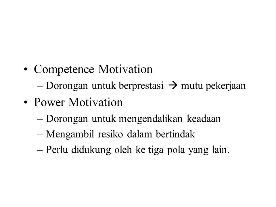Pandangan sistem terhadap Motivasi di dalam organisasi : Ada 3 set variabel yang perpengaruh.