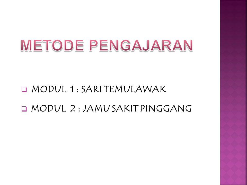 1.Panduan tutorial (student's guide) 2.CD Rom 3.Panduan Skills Lab 4.Panduan Praktikum