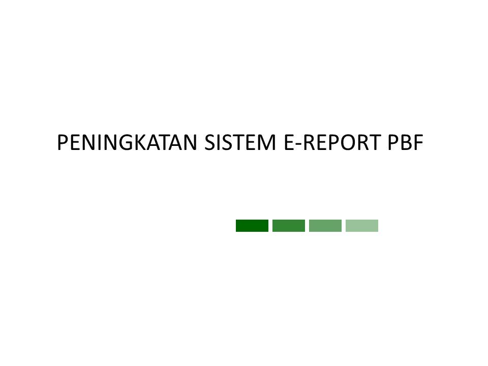 SISTEM PELAPORAN TERINTEGRASI Bank Data PBF Industri Farmasi Unit Layanan Perizinan Pasar Farmasi Peredaran NPP Pelaporan SIPNAP e - Licensing Laporan Produksi IF e – Report PBF