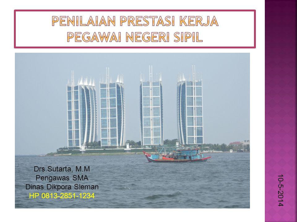 10-5-2014 Drs.Sutarta, M.M Pengawas SMA Dinas Dikpora Sleman HP 0813-2851-1234
