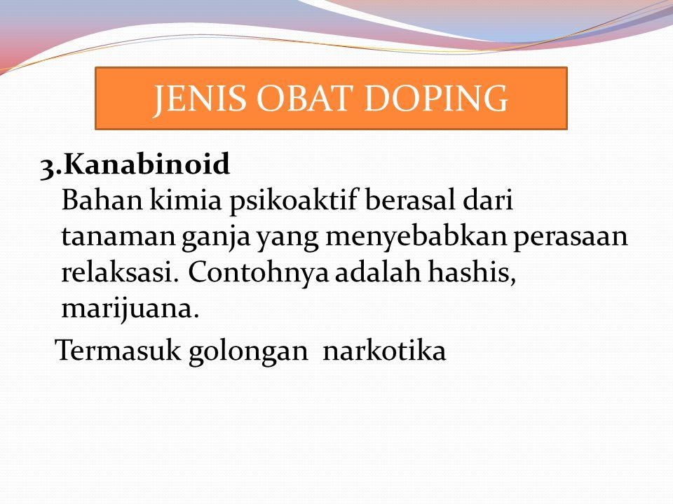 4.Anabolic Agents Anabolik steroid androgenik (AAS) adalah versi sintetis dari hormon testosteron.