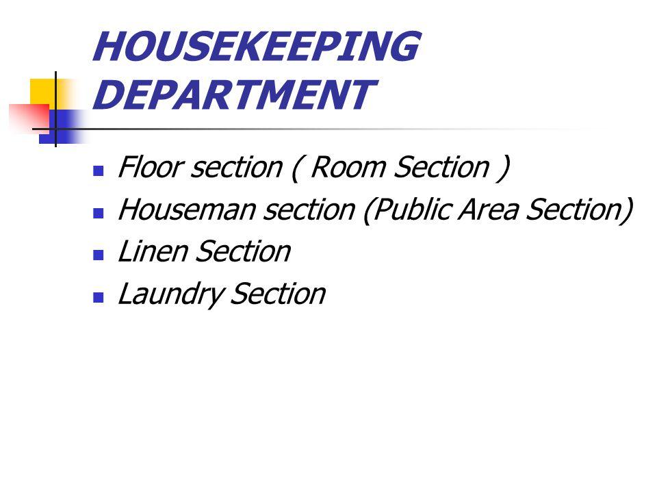 FLOOR SECTION Floor section sering juga disebut sebagai room section.