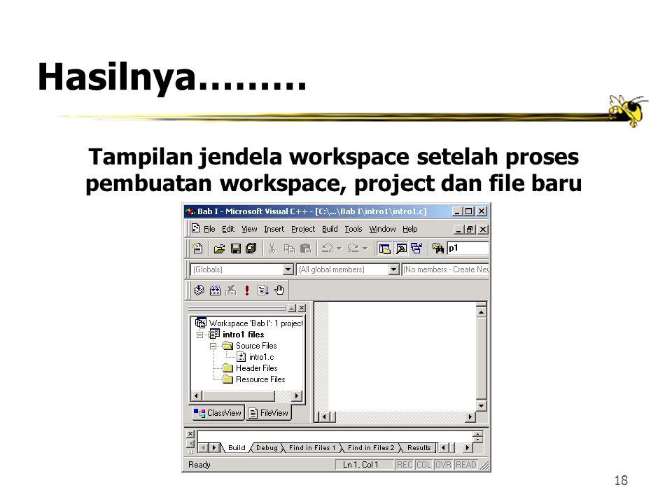 17 Membuat File Baru(2) Kotak dialog untuk New Files