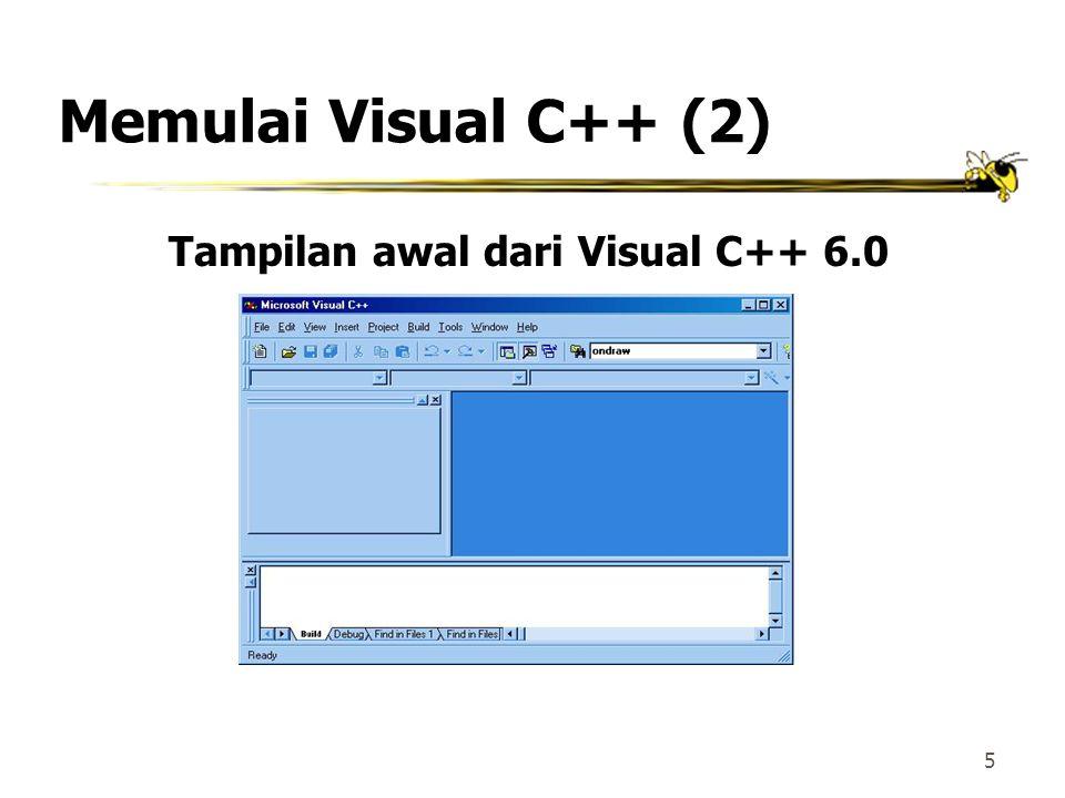 25 Mengeksekusi File 1.Klik menu Build 2.Klik opsi Execute intro1.exe atau tekan Ctl+F5 atau tekan icon bergambar maka akan didapatkan tampilan sebagaimana terlihat berikut ini…..