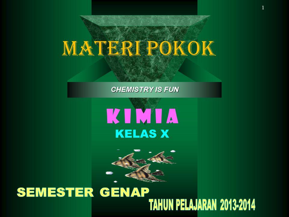 1 K I M I A KELAS X CHEMISTRY IS FUN MATERI POKOK