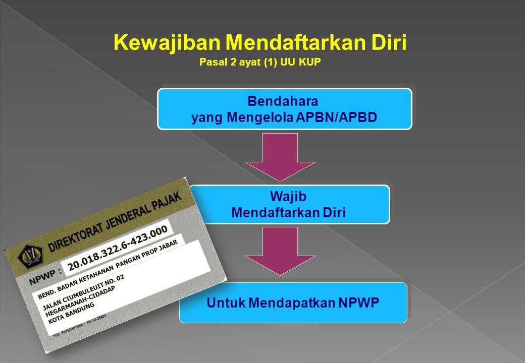 Penghitungan PPh Pasal 21 Mulai 1 Januari 2009 PENGHASILAN BRUTO - GAJI KEHORMATAN - GAJI - TUNJANGAN YG TERKAIT HONORARIUM DAN IMBALAN LAIN DGN NAMA APAPUN YANG DTERIMA PEJABAT NEGARA, PNS, ANGGOTA TNI/POLRI DIKURANGI: - BIAYA JABATAN, 5% DARI PENGH.