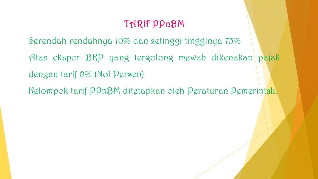 Cara Menghitung Pajak Pertambahan Nilai (PPN) Dan Pajak Penjualan Atas Barang Mewah (PPnBM) PPN dan PPnBM yang terutang dihitung dengan cara mengalikan Tarif Pajak dengan Dasar Pengenaan Pajak (DPP).