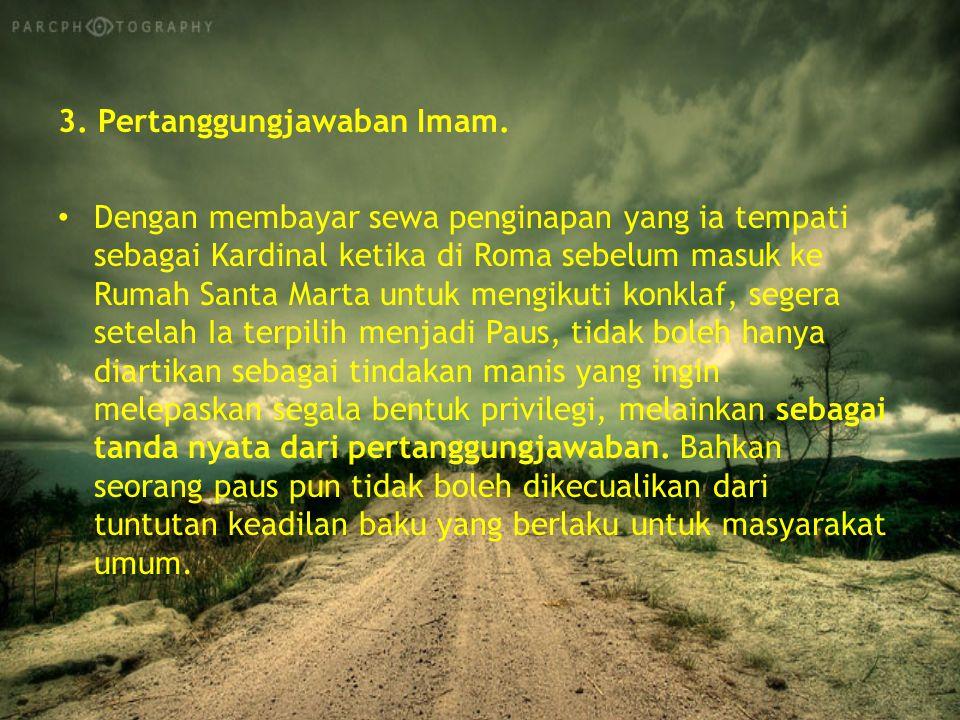 3.Pertanggungjawaban Imam.