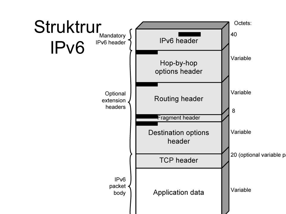 Struktrur IPv6