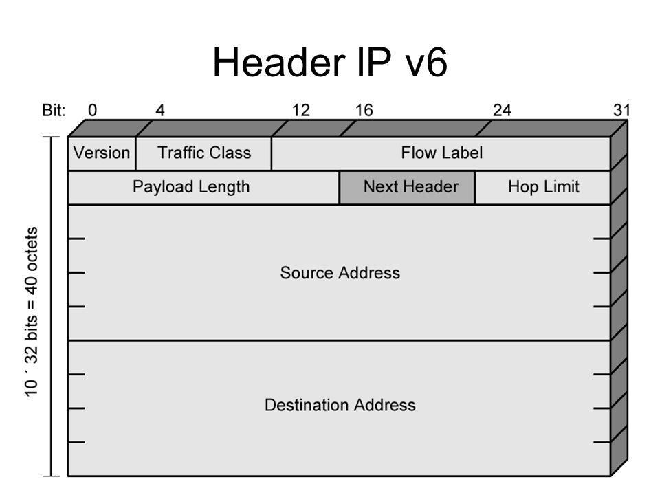 Header IP v6