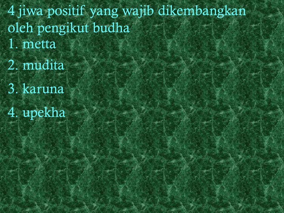 yang benar + usaha (daya upaya) yang benar + perhatian (renungan) yang benar + semedi (memusatkan pikiran) yang benar 2. Pratityasamutpada Rantai seba