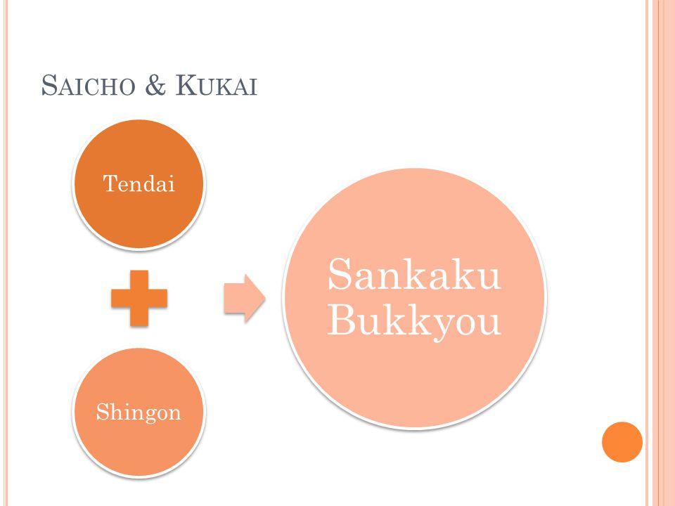 S AICHO & K UKAI TendaiShingon Sankaku Bukkyou