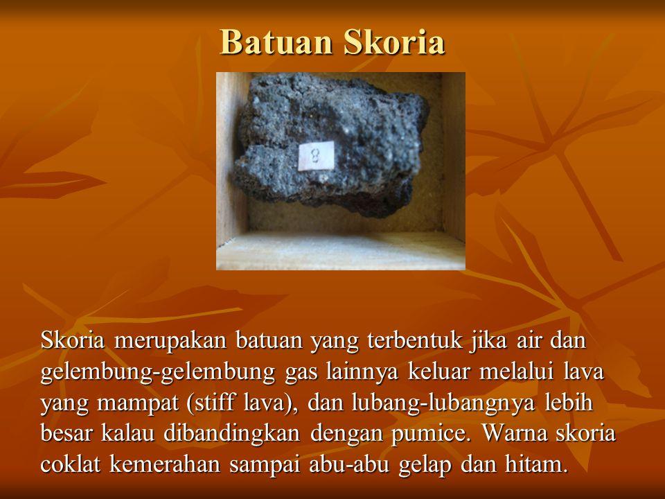 Batuan Endapan (Batuan Sedimen Batuan endapan adalah batuan yang terbentuk dari endapan hasil pelapukan batuan.