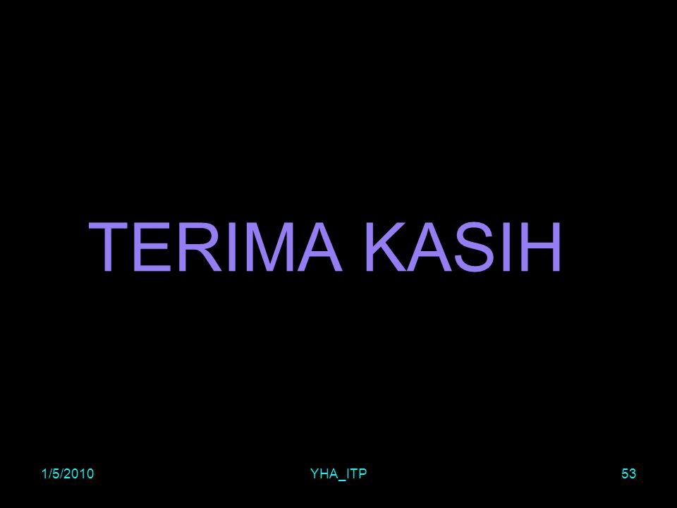 TERIMA KASIH 1/5/2010YHA_ITP53