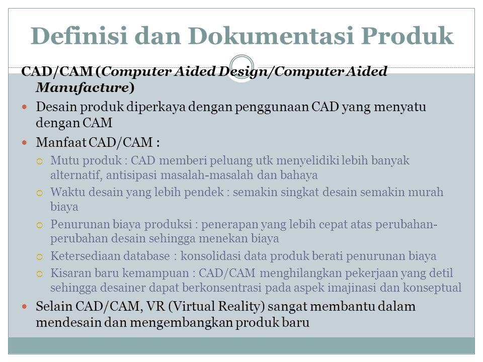 Definisi dan Dokumentasi Produk Teknologi Kelompok Gambar teknik yang modern mencakup aturan fasilitasi teknologi kelompok. Teknologi kelompok menghar