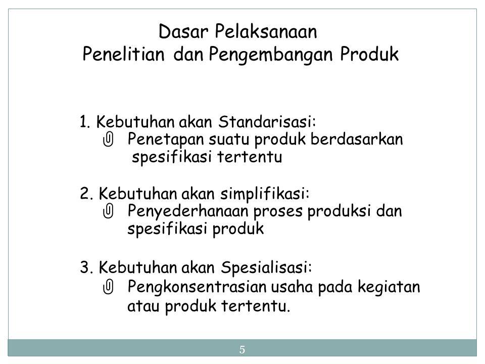 Penelitian dan Pengembangan Produk Penelitian Produk:  Penelitian ttg produk apa dan produk yang bagaimana yang diinginkan konsumen Penelitian Produk
