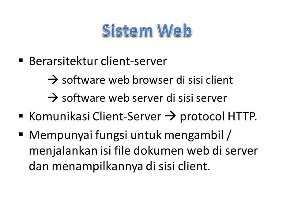 Sebuah website dikembangkan dalam 2 proses besar: 1.Web Designing: proses hingga jadi halaman- halaman web secara lengkap dan siap tayang.