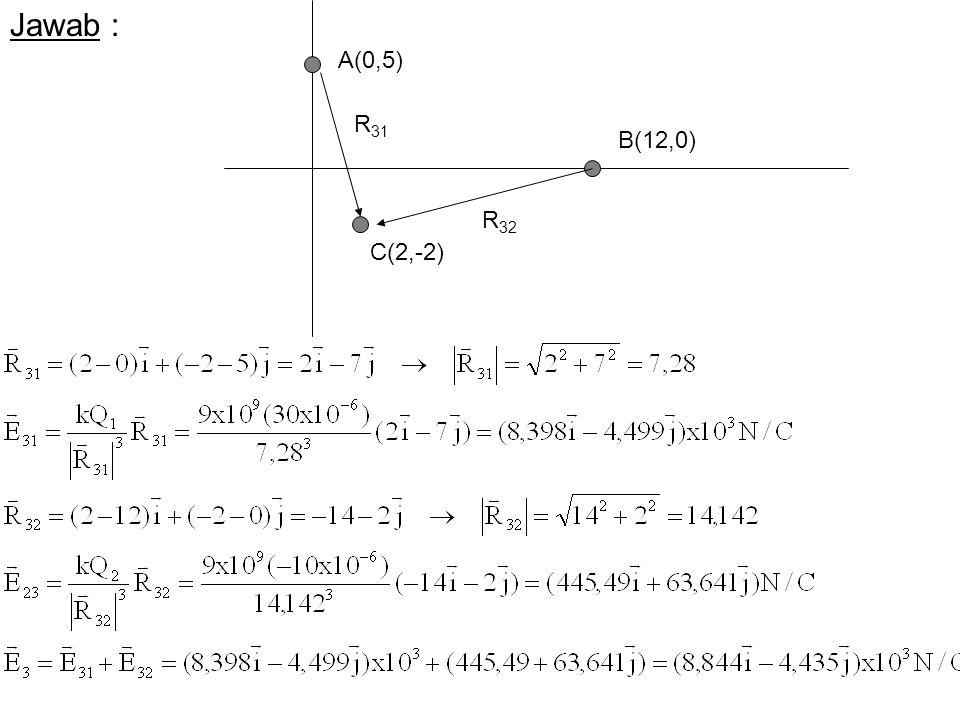 Jawab : A(0,5) B(12,0) C(2,-2) R 31 R 32