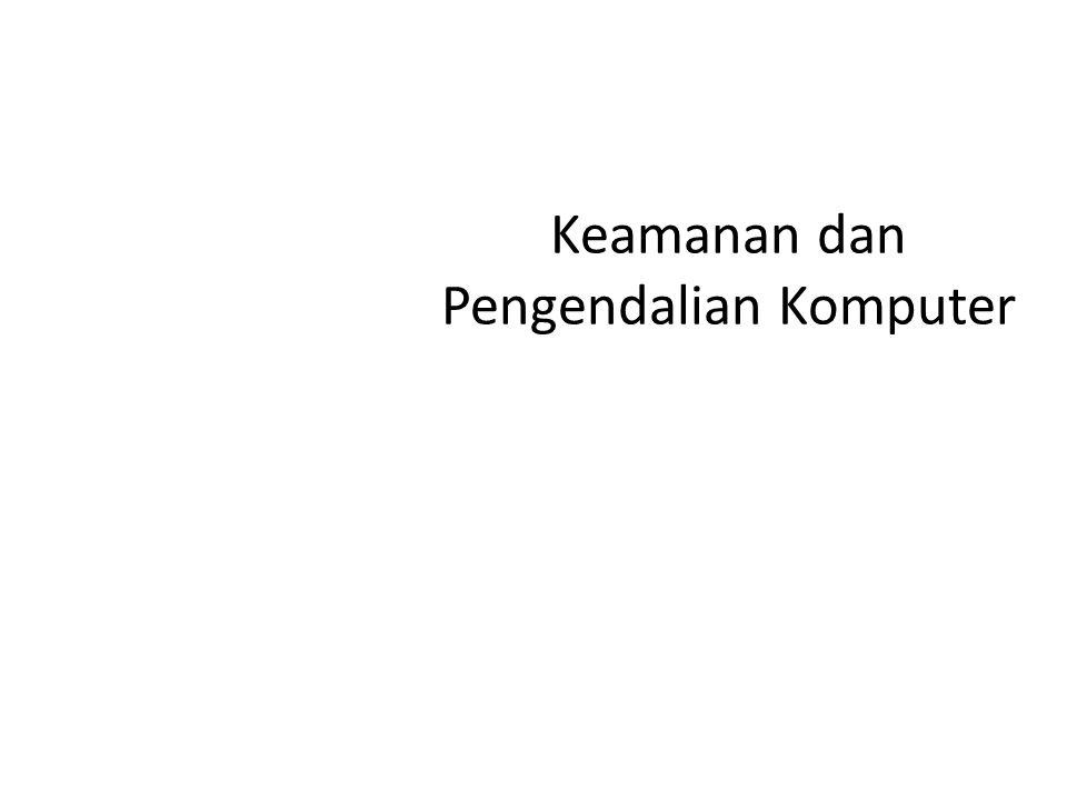 GASAL 2007/2008SISTEM INFORMASI AKUNTANSI (AK069) 4 Prinsip sistem yang handal 1.Ketersediaan (Availability) 2.Keamanan (Security) 3.Dapat dipelihara (Maintainability) 4.Integritas (Integrity).