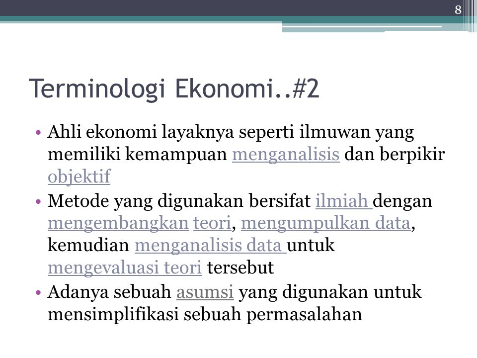 Model Ekonomi...