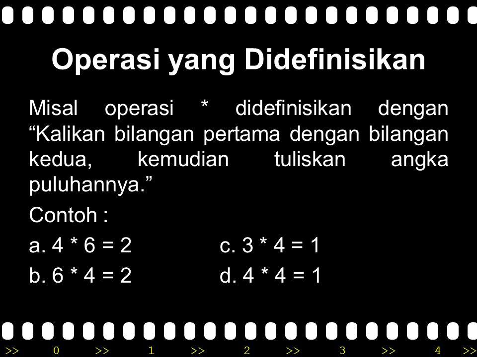 >>0 >>1 >> 2 >> 3 >> 4 >> Hukum Kanselasi Jika ɑ, b, c bilangan Real (i) ɑ + c = b + c, maka ɑ = b (ii) ɑ c = bc, dengan c ≠ 0 maka ɑ = b