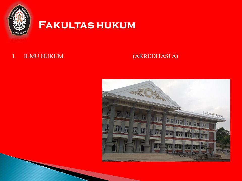 FAKULTAS ILMU POLITIK dan ILMU SOSIAL 1.ILMU KOMUNIKASI(AKREDITASI A) 2.ILMU PEMERINTAHAN (AKREDITASI A) 3.ADMINISTRASI PUBLIK/NEGARA (AKREDITASI A) 4.ADMINISTRASI BISNIS ( AKREDITASI A) 5.HUBUNGAN INTERNASIONAL