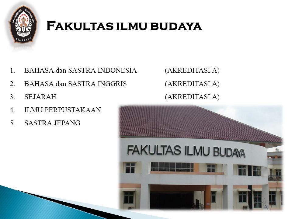 Fakultas ekonomi dan bisnis FAKULTAS EKONOMI dan BISNIS 1.AKUNTANSI (AKREDITASI A) 2.MANAJEMEN (AKREDITASI A) 3.ILMU EKONOMI SOSIAL PEMBANGUNAN (AKRED