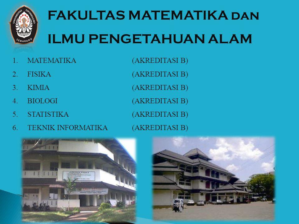 1.PROGRAM STUDI PETERNAKAN (AKREDITASI A) Fakultas peternakan