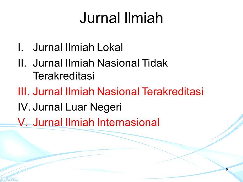 9 1.Keterlibatan Mitra Bestari: penelaah jurnal yang bukan merupakan anggota dewan redaksi.