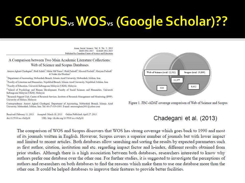 Chadegani et al. (2013)