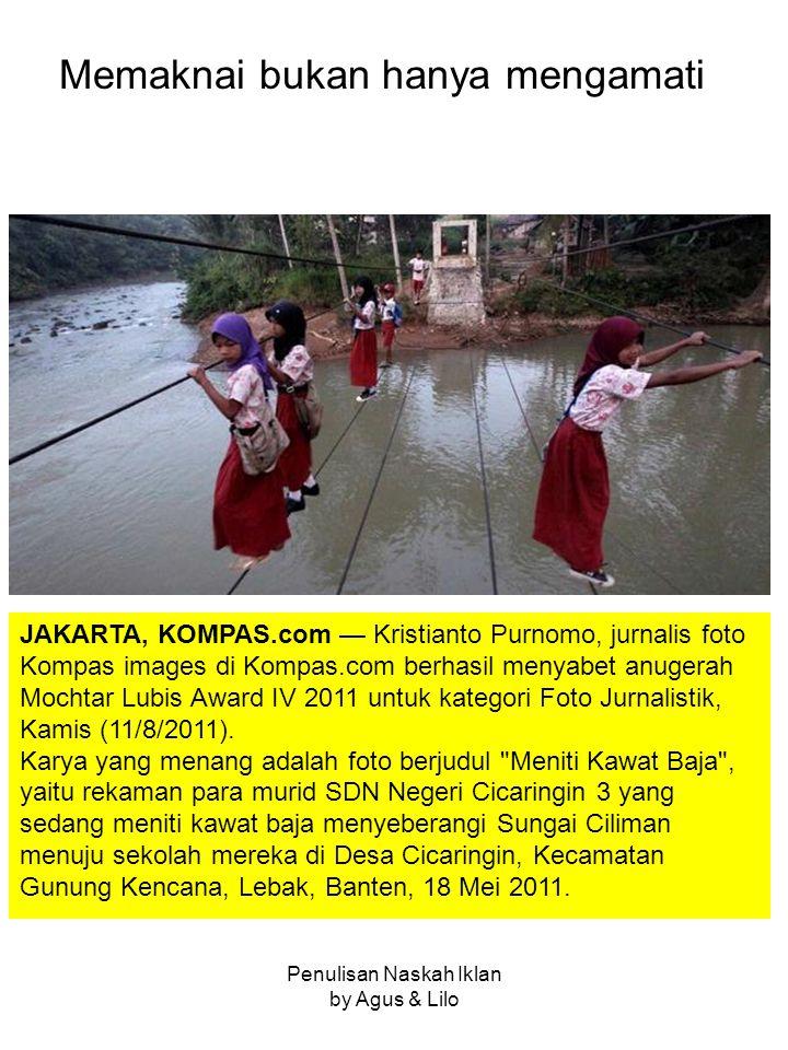 JAKARTA, KOMPAS.com — Kristianto Purnomo, jurnalis foto Kompas images di Kompas.com berhasil menyabet anugerah Mochtar Lubis Award IV 2011 untuk kategori Foto Jurnalistik, Kamis (11/8/2011).
