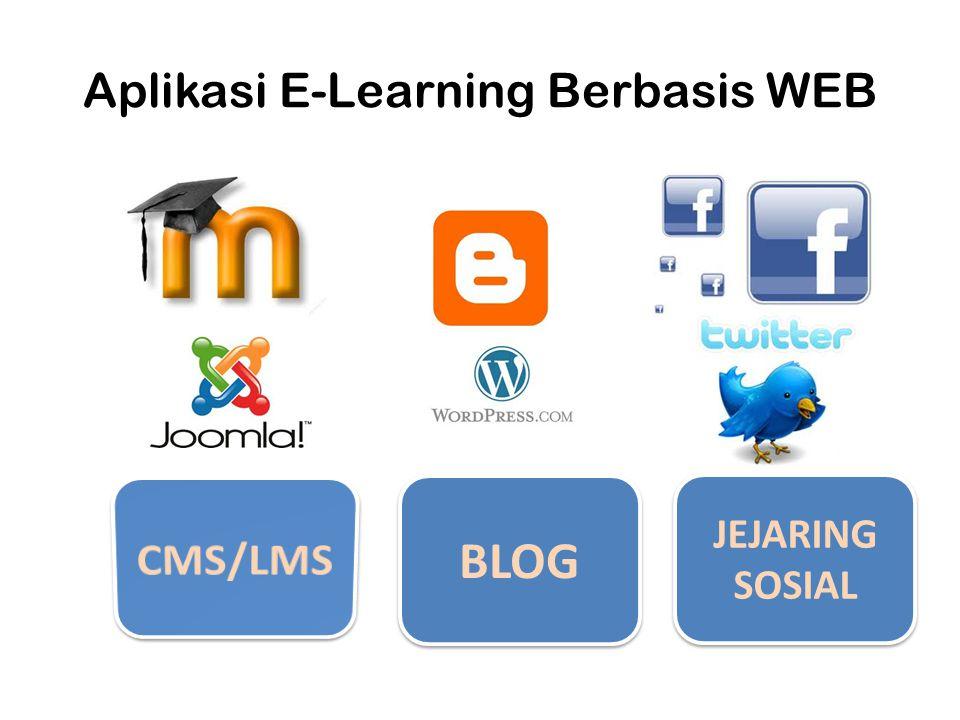 Aplikasi E-Learning Berbasis WEB BLOG JEJARING SOSIAL