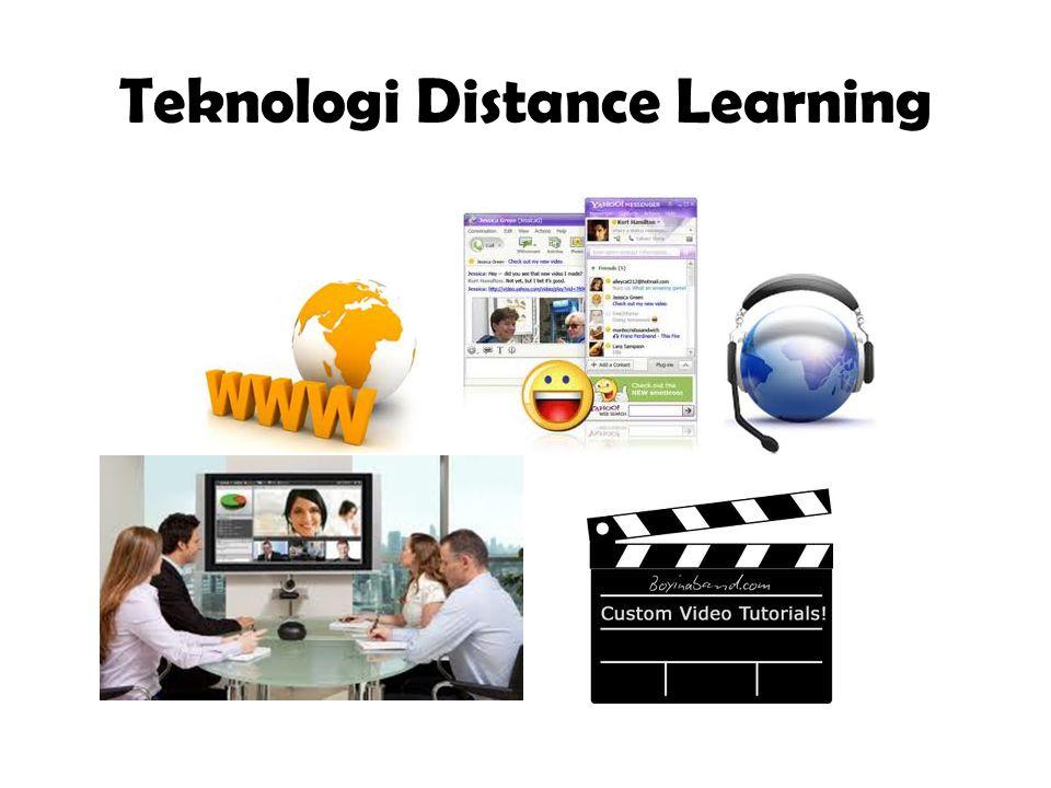 Teknologi Distance Learning