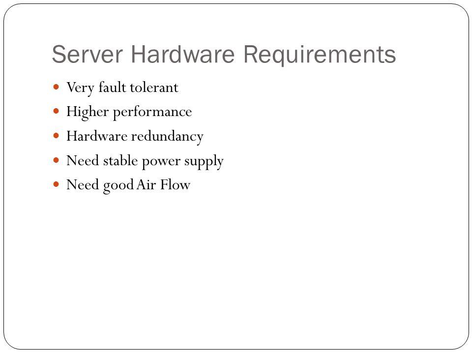 Server Software Server OS : Linux, Unix, Gentoo, Windows Server, Mac OS Servers, Solaris OS, etc.