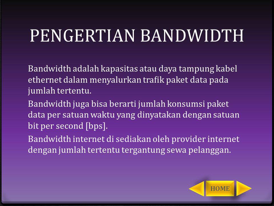 KONSEP DASAR Bandwidth management dapat didefinisikan sebagai pengalokasian yang tepat dari suatu bandwidth untuk medukung kebutuhan suatu layanan jaringan.