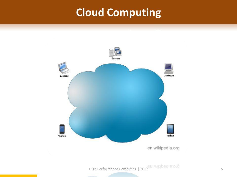 Service Model High Performance Computing | 201226 INFRASTRUCTURE PLATFORM APPLICATION