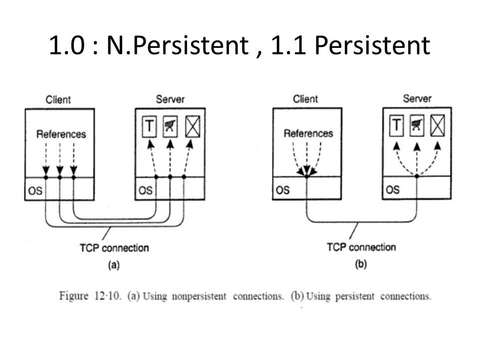 1.0 : N.Persistent, 1.1 Persistent