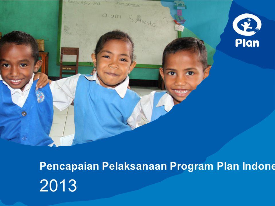 Pencapaian Pelaksanaan Program Plan Indonesia 2013