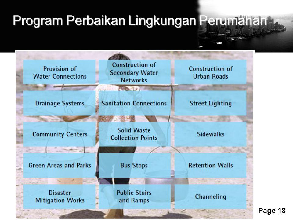 Free Powerpoint Templates Page 18 Program Perbaikan Lingkungan Perumahan