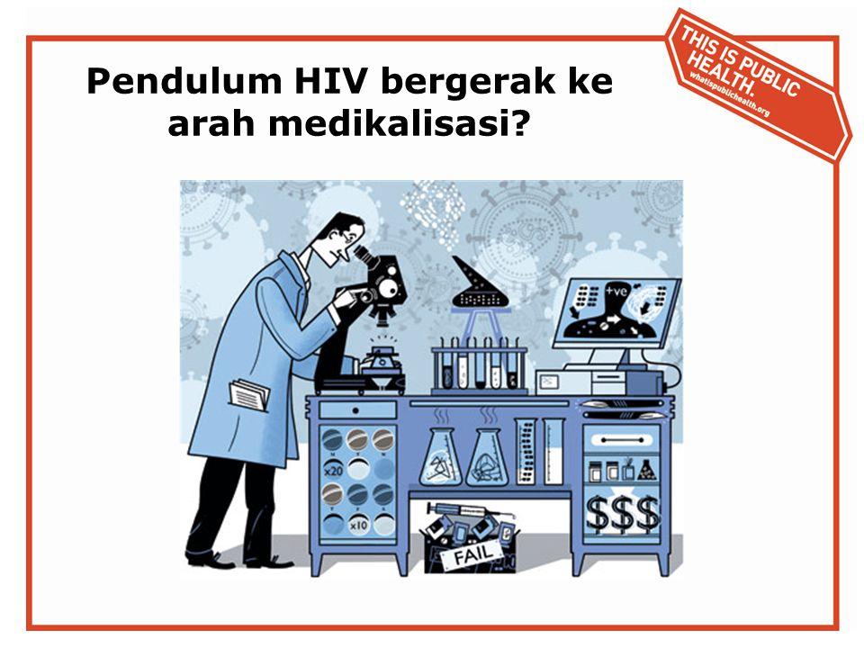 Pendulum HIV bergerak ke arah medikalisasi?
